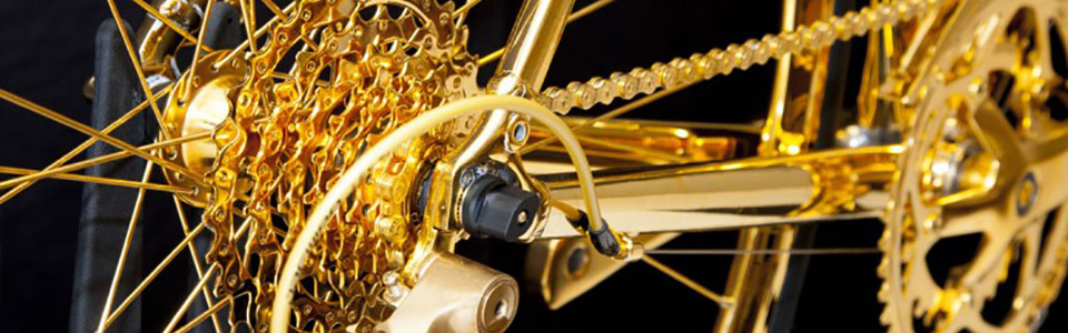 golden bike
